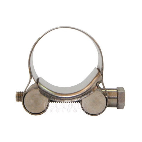 Stainless steel hose clamp Ø 29/31