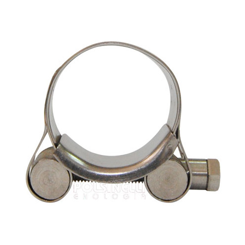 Stainless steel hose clamp Ø 32/35