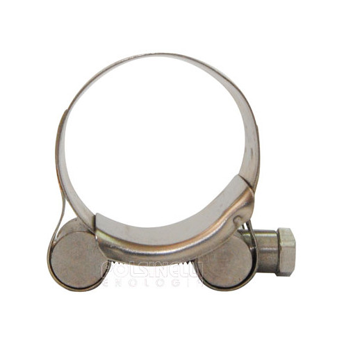 Stainless steel hose clamp Ø 36/39