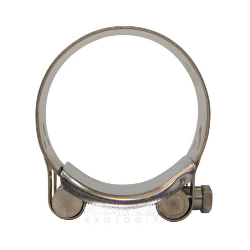 Stainless steel hose clamp Ø 56/59