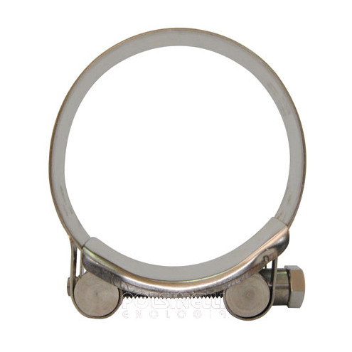 Stainless steel hose clamp Ø 68/73