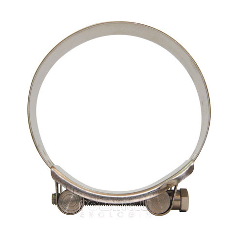 Stainless steel hose clamp Ø 92/97