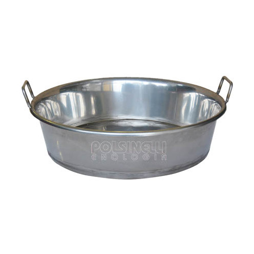 Stainless steel pan Ø 60