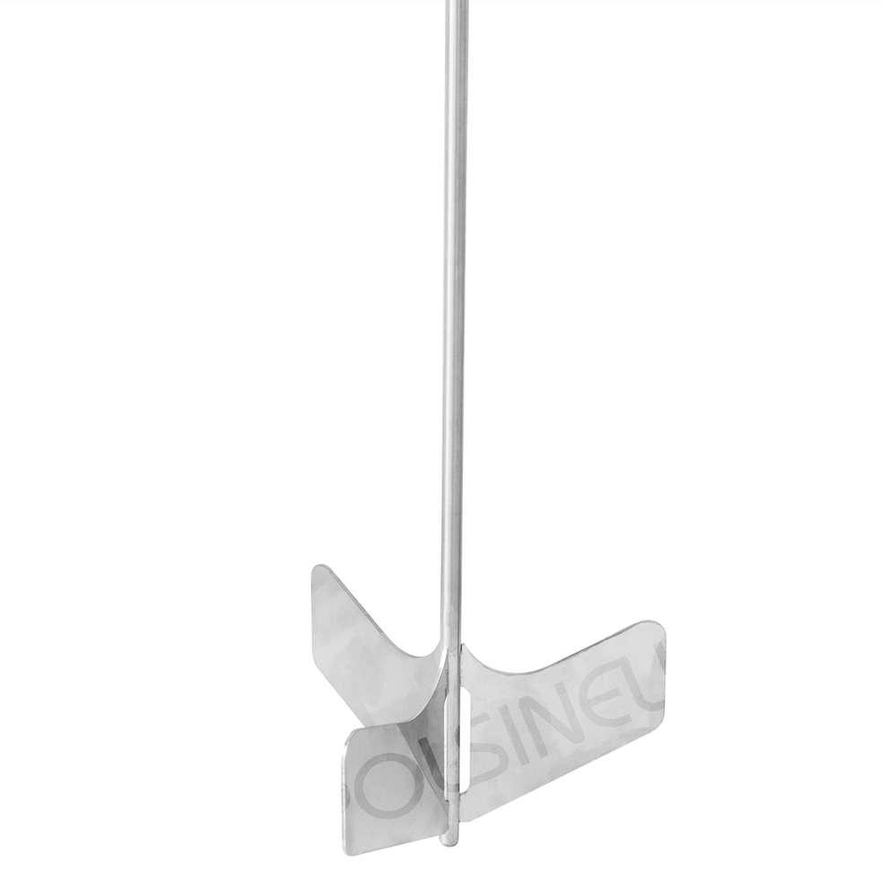 Stainless steel shovel whirlpool