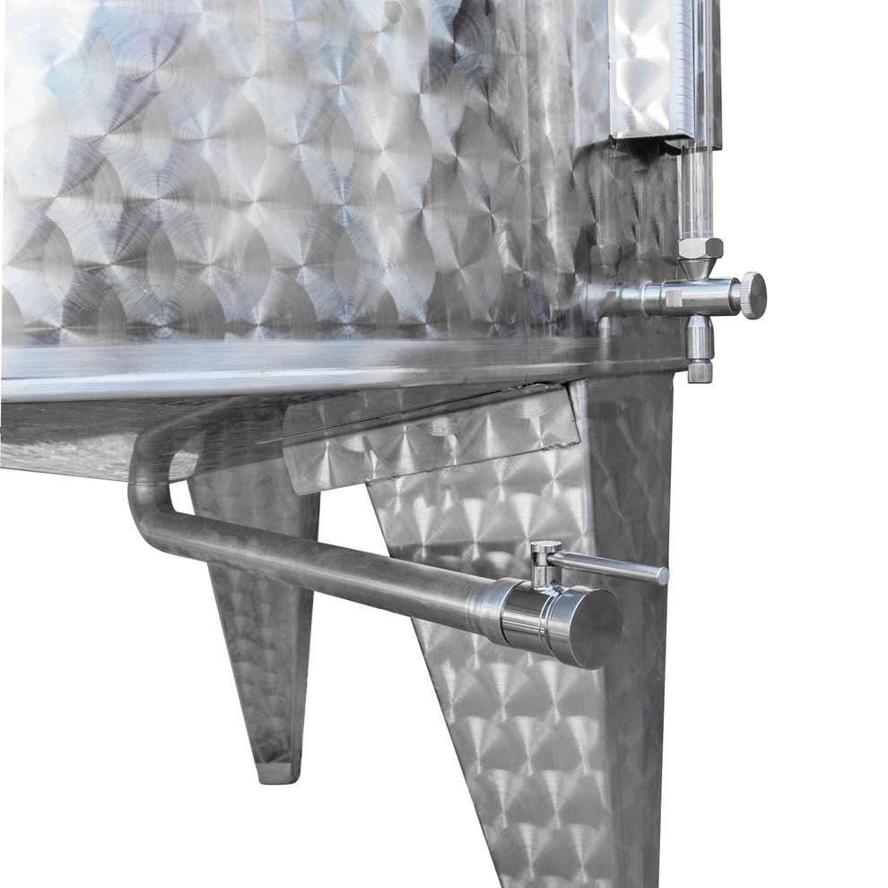 Stainless steel storage tank 1000 L