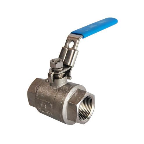 "Steel ball valve 1"" 1/2 F/F"