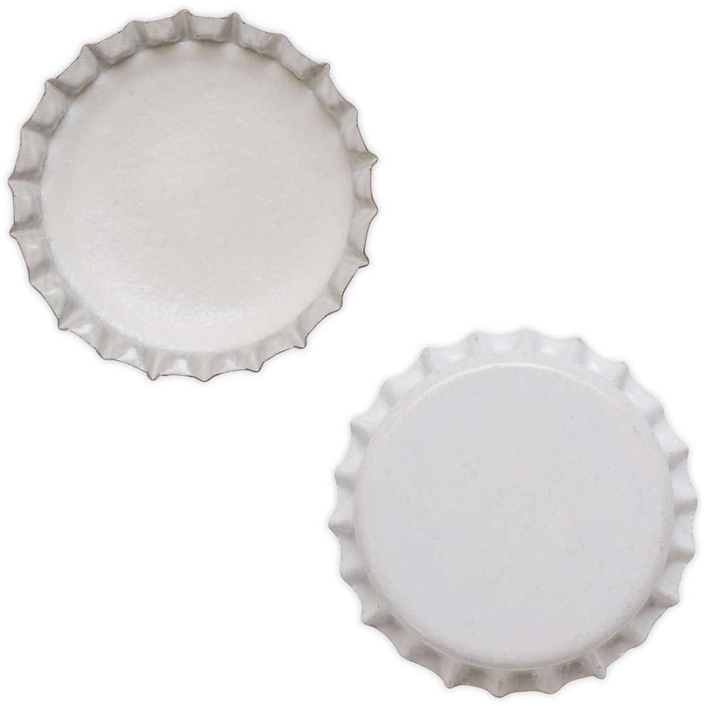 Tapón de corona blanco ⌀29 (200 PC)