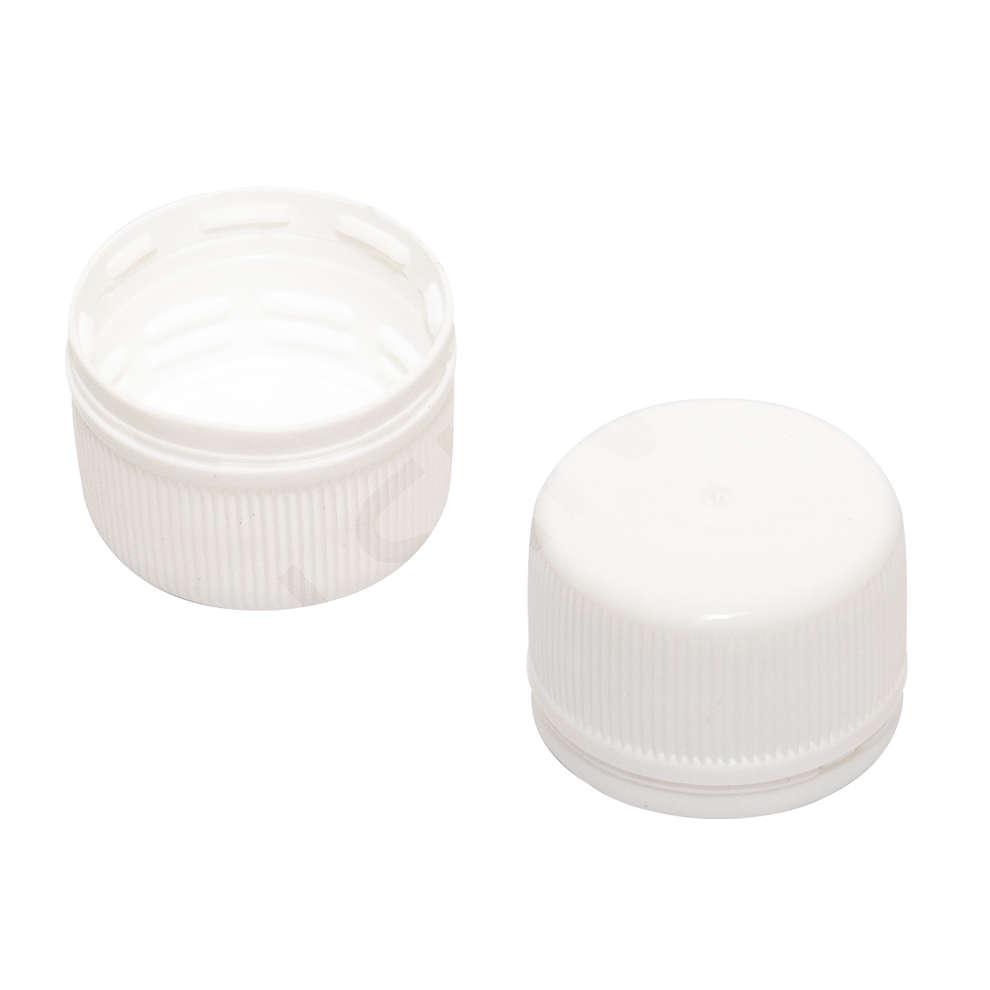 Tapones de rosca para botellas de PET - Bordolese 1 lt (Pzas 100)