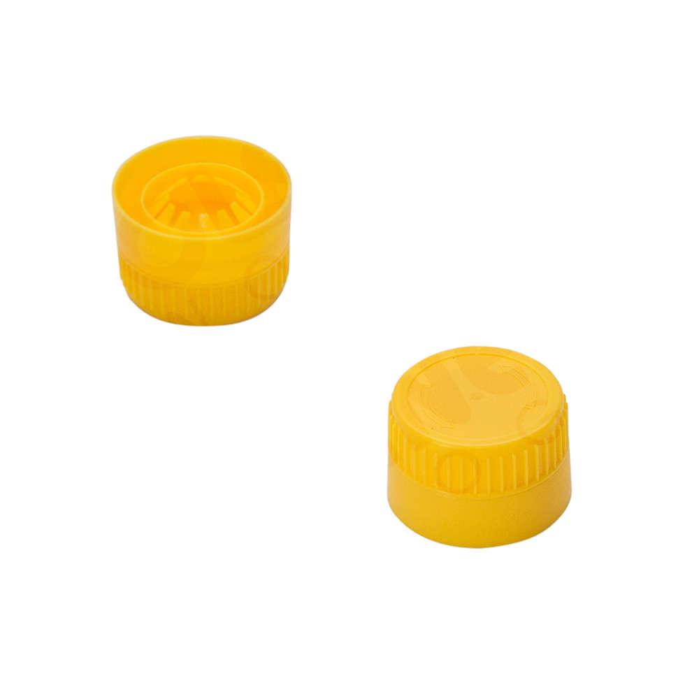 Tapones de rosca para botellas de PET (Pzas 100)