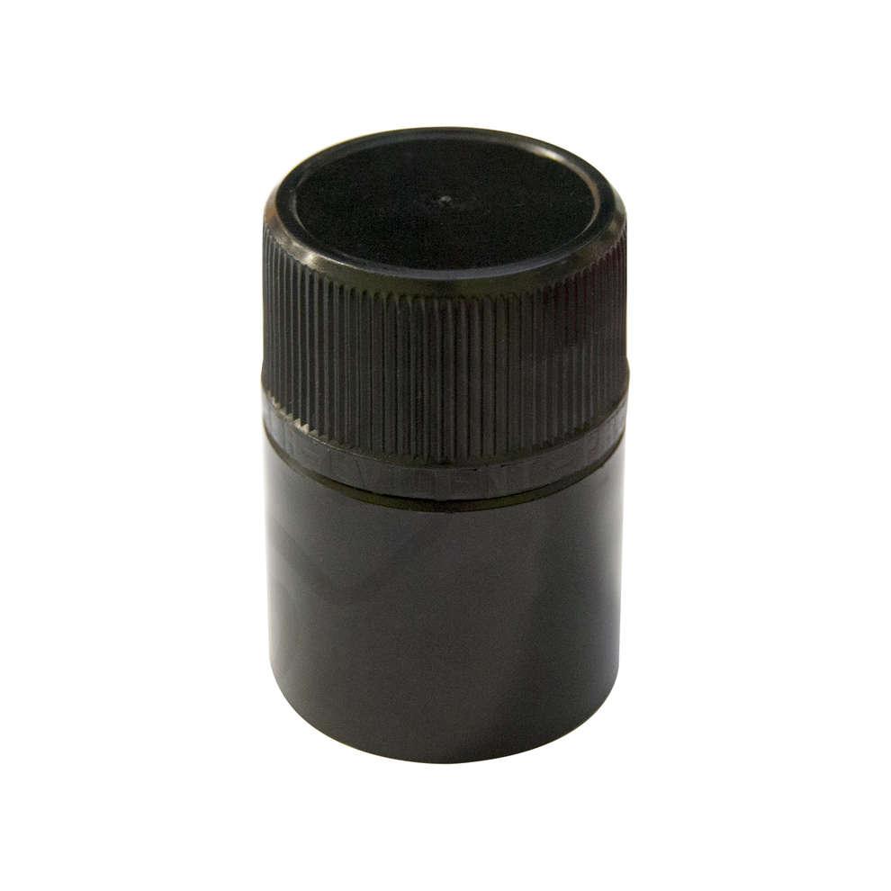Tapones no recargables Negro para botella Reginolio (100 pz)