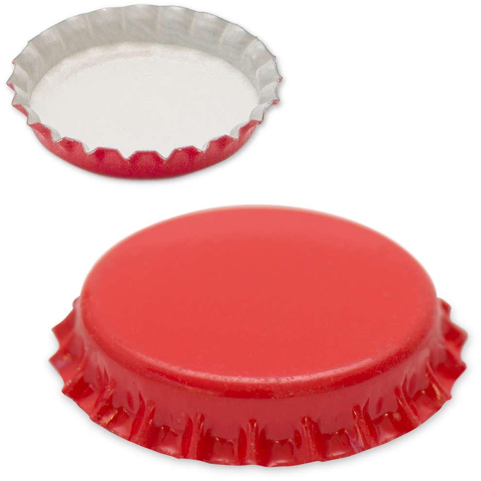Tappo a corona rosso ⌀29 (200 pz)