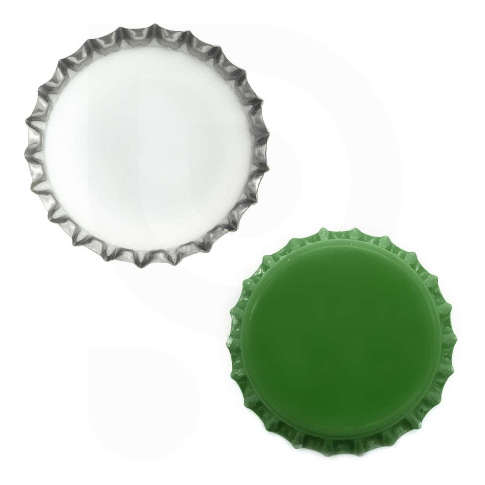 Tappo a corona verde ⌀29 (200 pz)