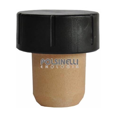 Tappo a fungo sintetico con dosatore ⌀19,5 (10 pz)