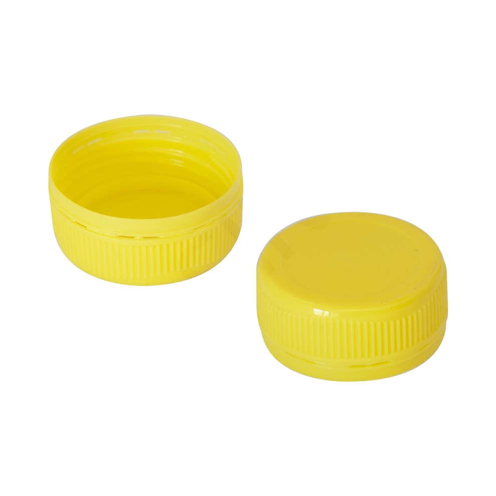 Tappo a vite Bericap 38V30 monopezzo giallo  (Pz 100)