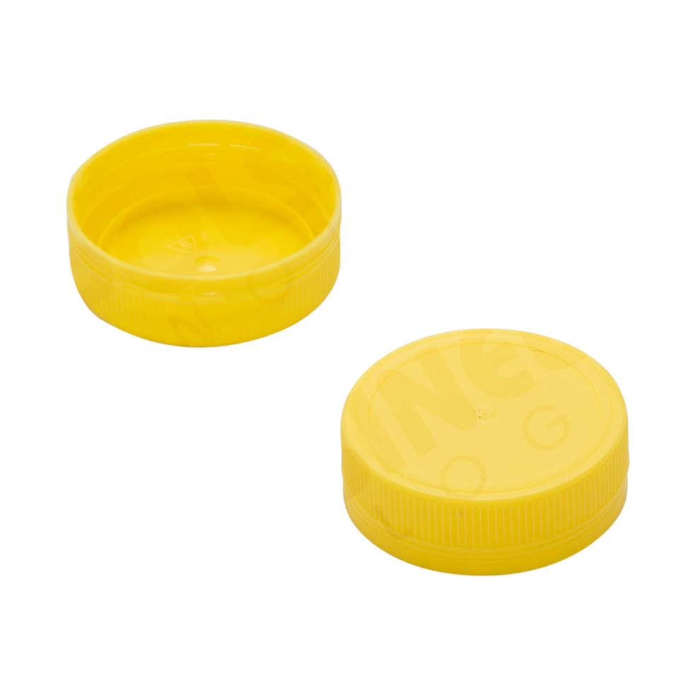 Tappo a vite Bericap monopezzo giallo 48V40 (Pz 100)