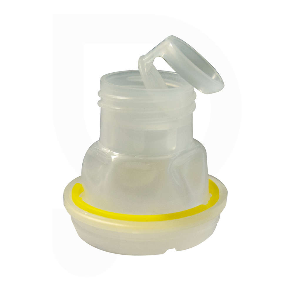 Tappo con versatore per lattina d'olio 0,25 lt Ø24 (16 pz)