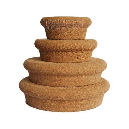 Tappo in sughero per vasi ⌀80 (2 pz)