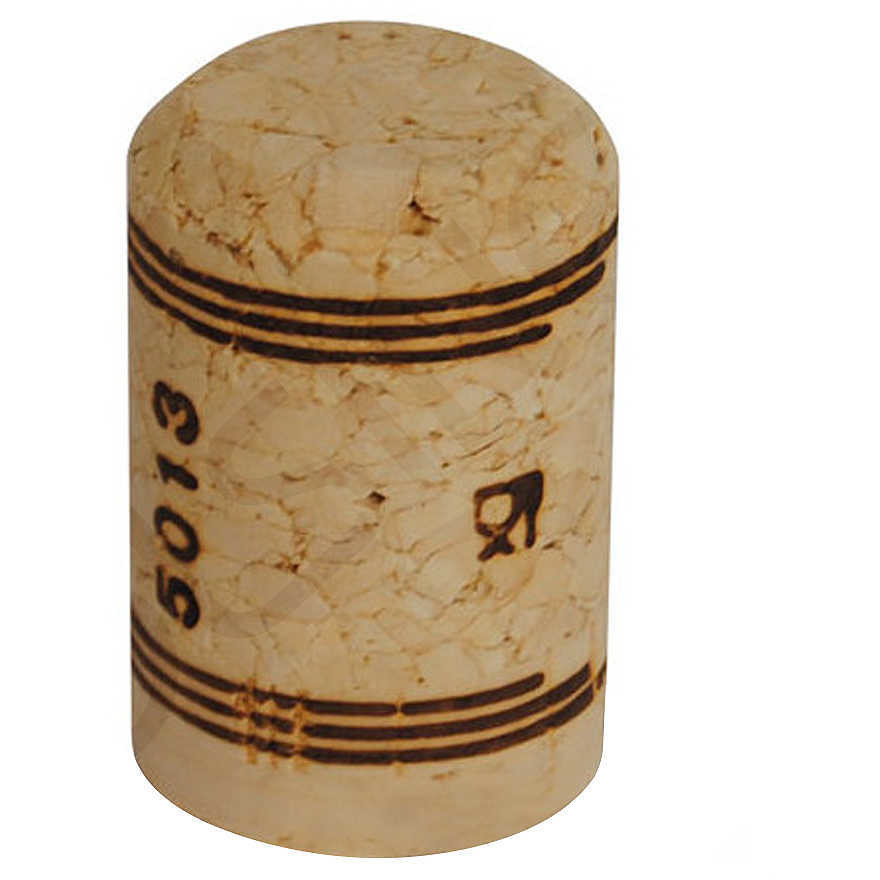Tappo sughero agglomerato spumantino 26,5x42 (1000 pz)