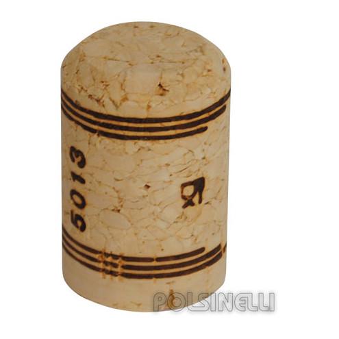 Tappo sughero agglomerato spumantino 27x42 (100 pz)