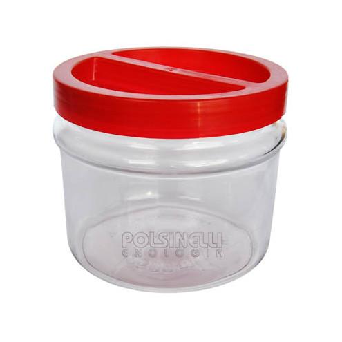 Tarro con tapa de rosca 1 L (unid. 12)