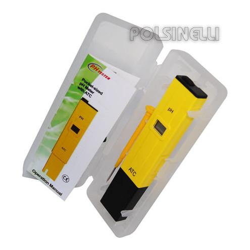 Taschen-pH-Meter ATC