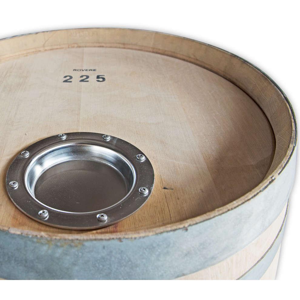 Tonneau en chêne pour bier 225 L regéneré