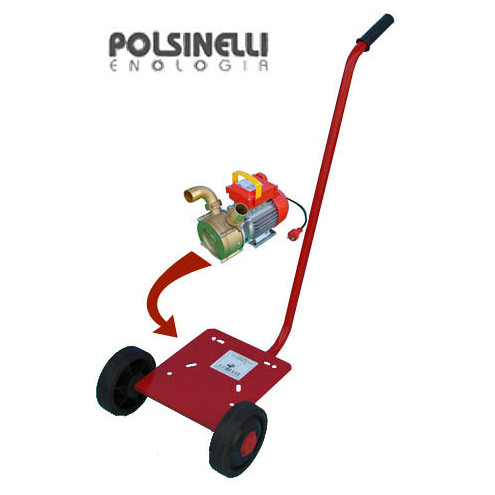Trolley for electric pump