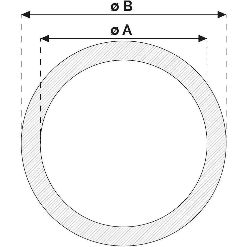 Tubo Cristallo atossico ø 19 (5 m)