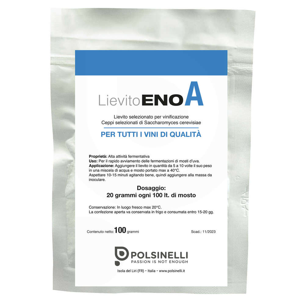 Une levure Enoferm (100 g)