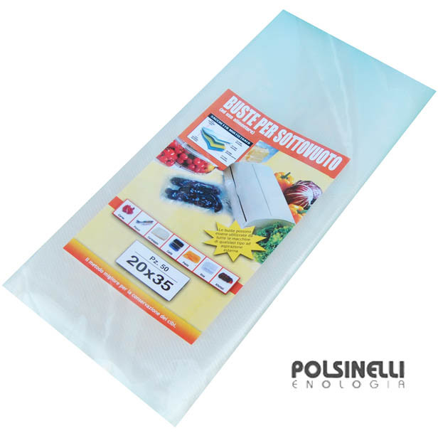 Vacuum bag 20x35 (50 pieces)