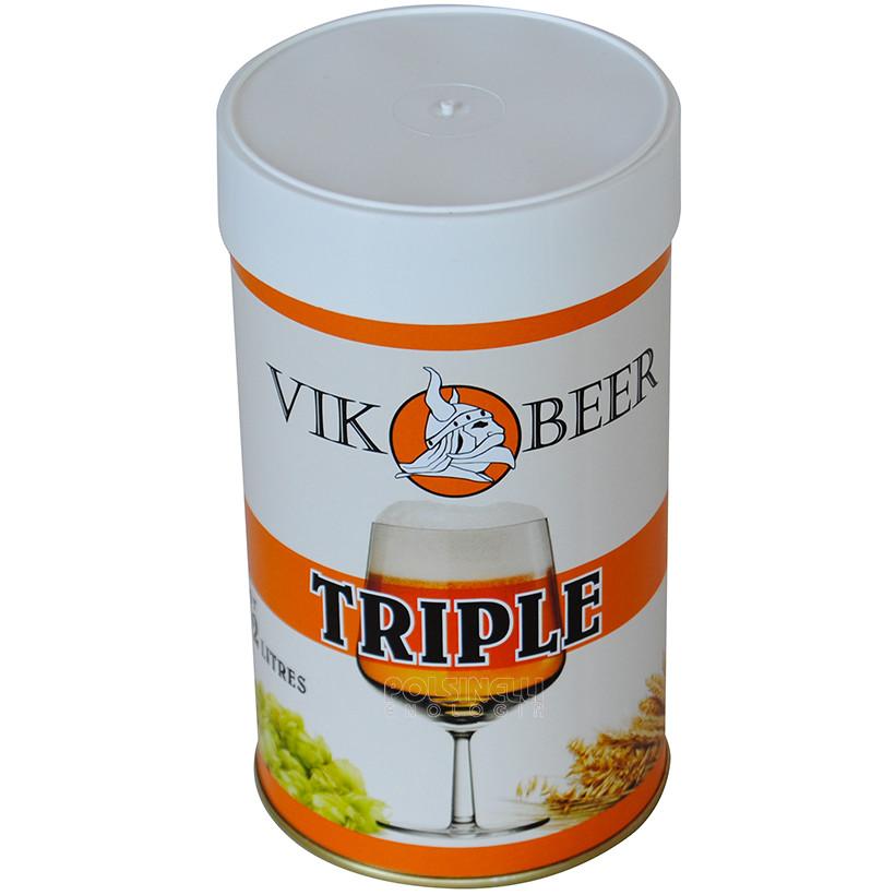 Vik Triple malta de cerveza (1,5 kg)