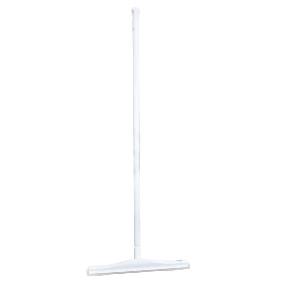 White articulated squeegee for foodstuff 135 cm