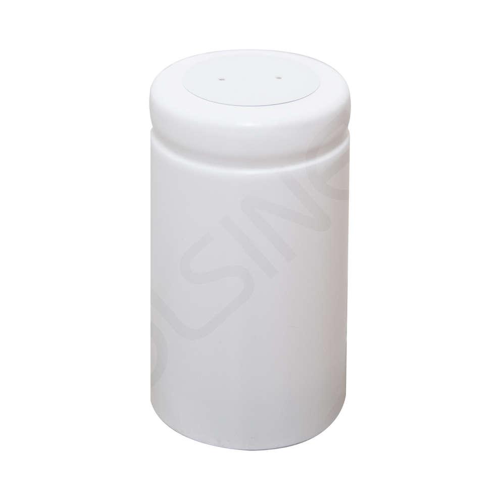 White PVC capsule ⌀33 (100 pcs)