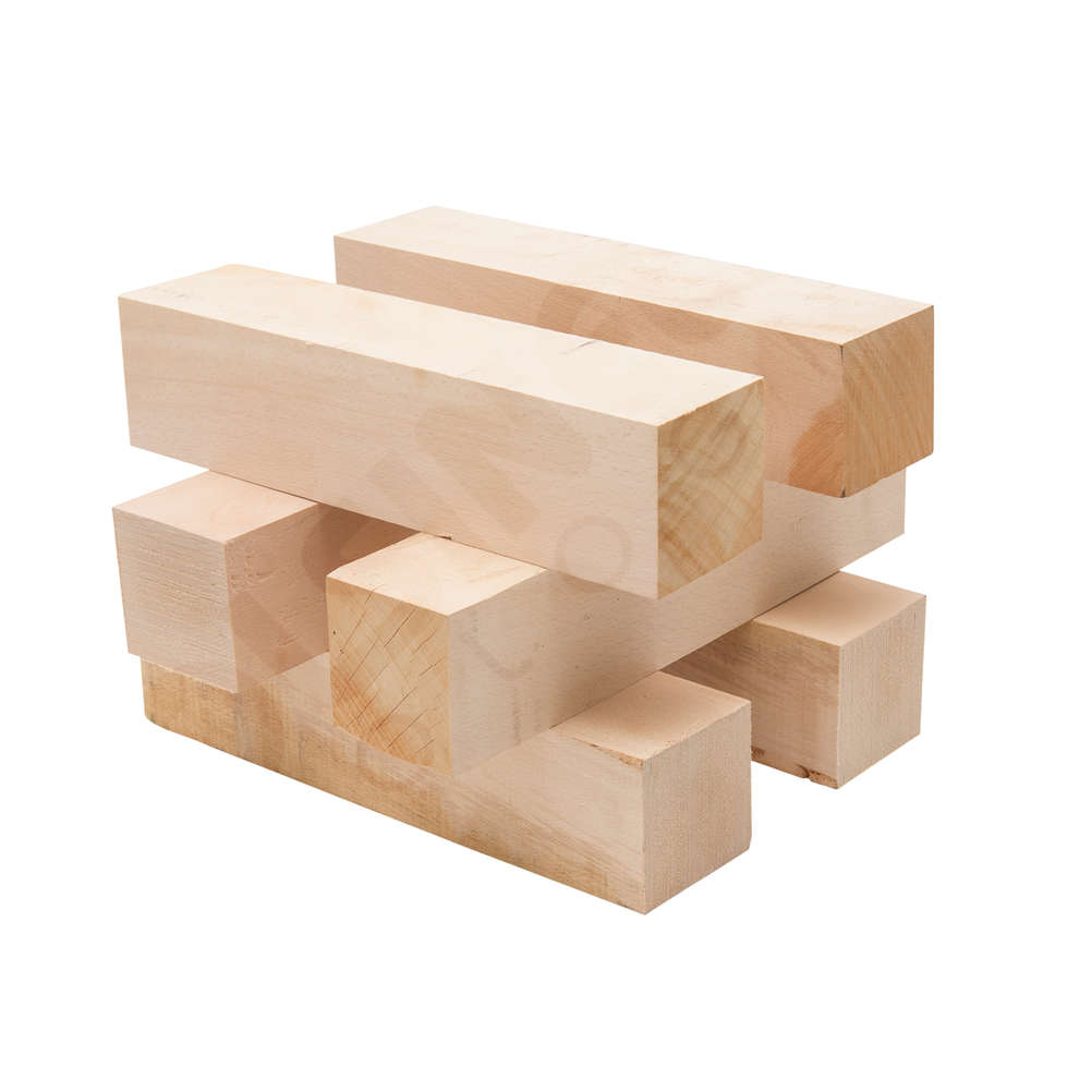 Wooden pieces for press 40 (6 pieces)