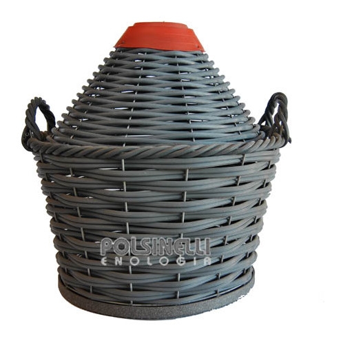Woven demijohn baskets 23 Lt