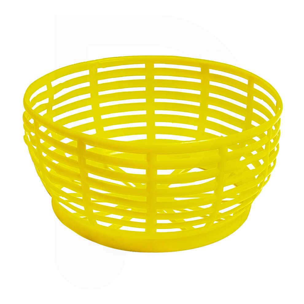 Yellow basket for 5L demijohn