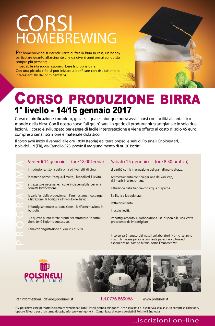 Corso All Grain Polsinelli